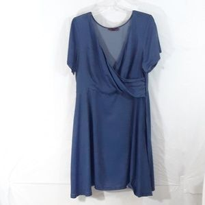 Jessica London fit and flare dress size 18
